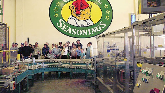 Celestial Seasonings Tea Factory