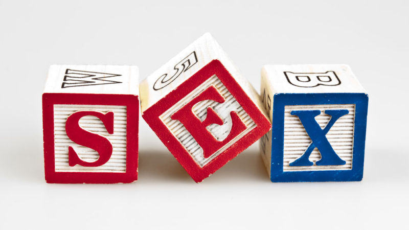 Sex letter blocks