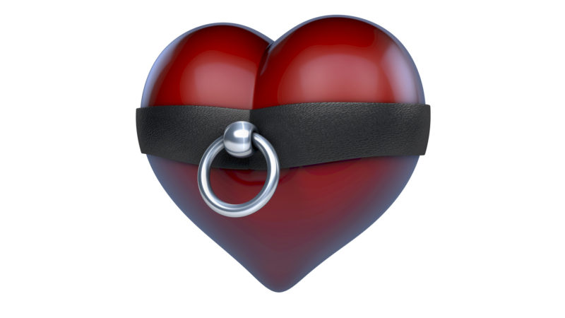 Heart sex toy