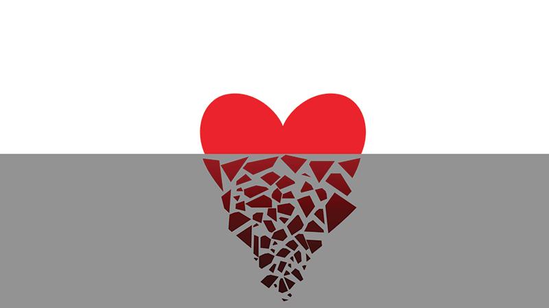Sinking heart relationship