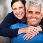 Loving couple in a faithful relationship