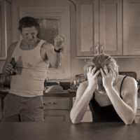 Relationship with abusive husband