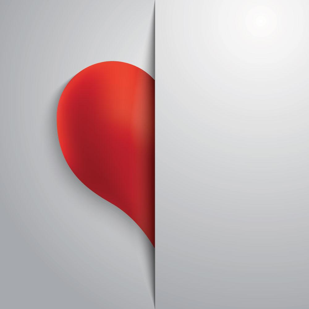 Half-hearted
