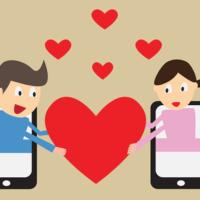 Cell phone romance