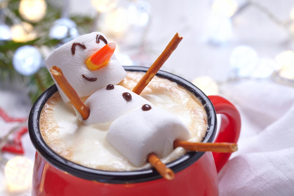 Happy lil marshmallow man