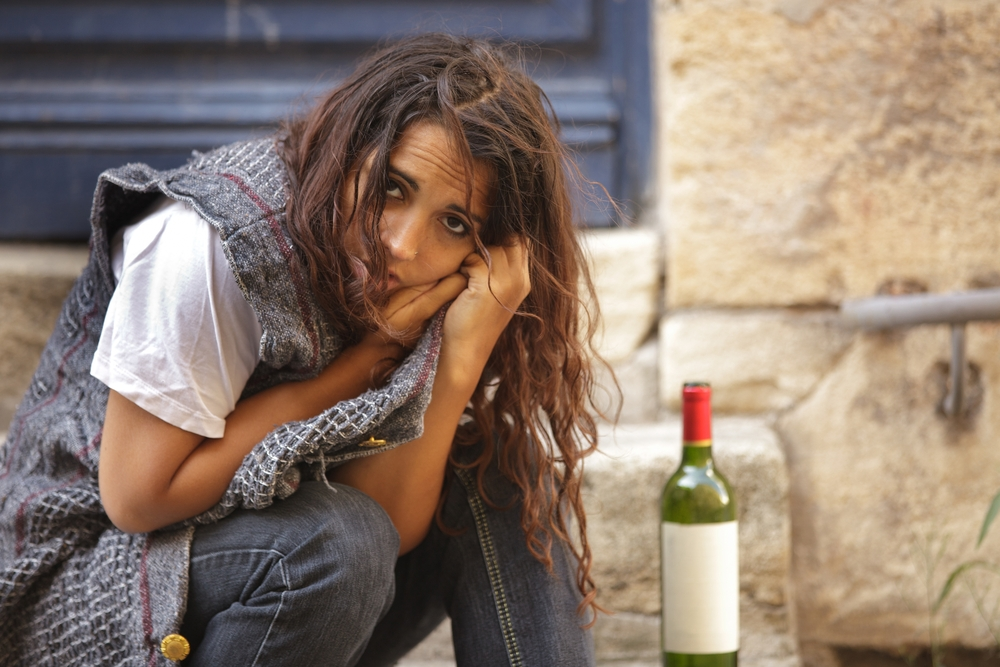 Alcoholic homeless sister