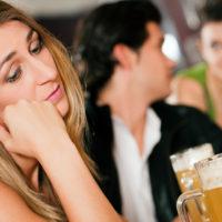 Jealous of boyfriend talking to another girl