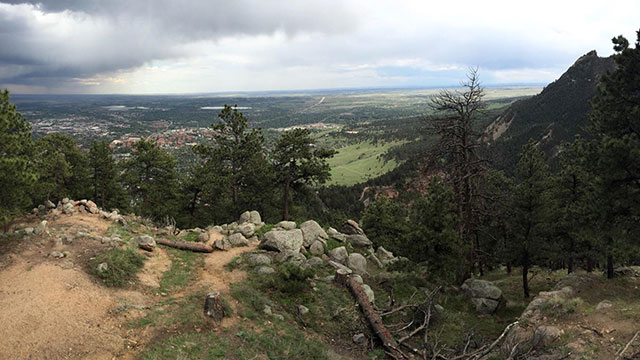 Flagstaff Mountain view